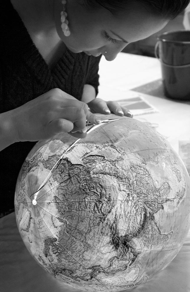 Applying Map to Globe